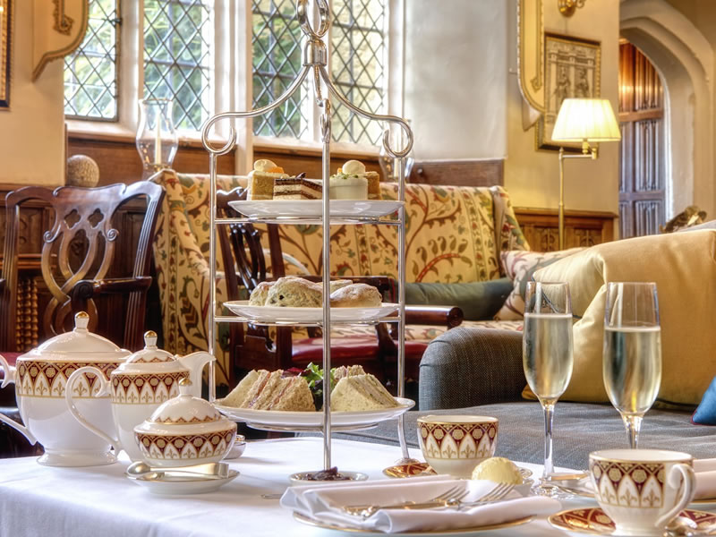 Afternoon tea in Gloucestershire