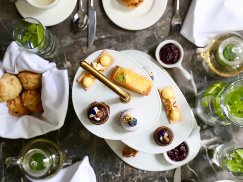 Vegan Afternoon Tea Menu