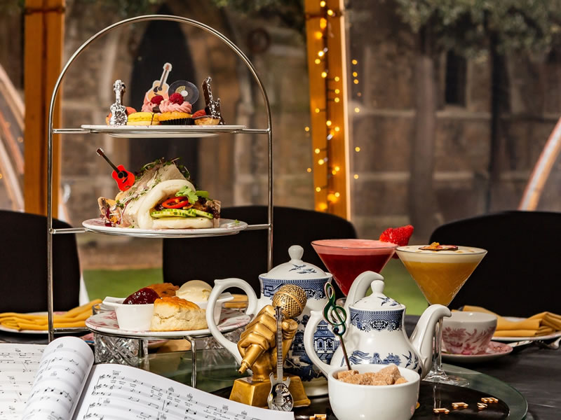 London Secret Garden Afternoon Tea