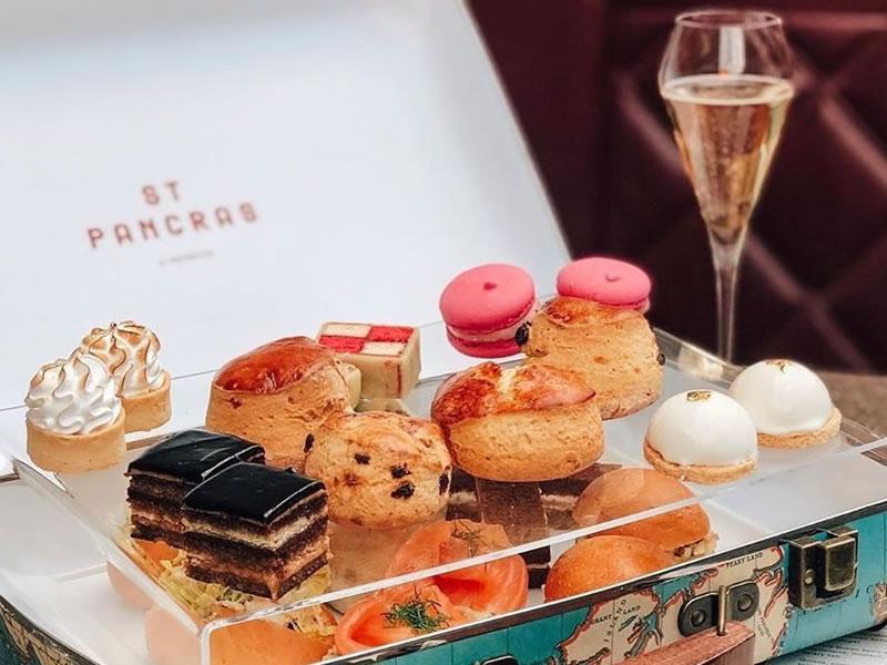 St Pancras Brasserie & Champagne Bar