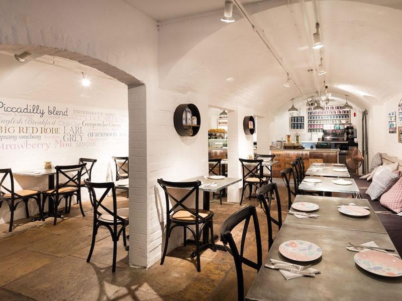 Whittard of Chelsea Tea Room